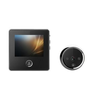 Wireless Video-Eye 2.8 Inch Door Bell Smart Cat Eye Visual Doorbell Cat Eye Comes With Memory Cat Eye Door 120 Degree Door Bell фото