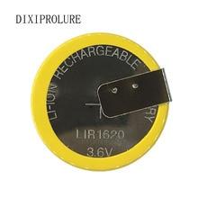 1 шт./лот LIR1620 1620 горизонтальная сварочная ножная батарея 3,6 V перезаряжаемая монетная батарея 1620