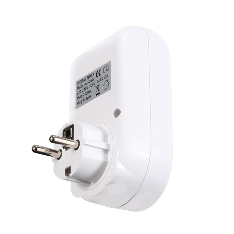 HTB1b7Rma8Cw3KVjSZFuq6AAOpXa4 - Digital Timer Electronic Switches EU Plug Socket Kitchen Timer Outlet 220V 50HZ 10A Programmable Timing Smart Socket