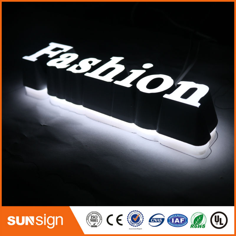 Waterproof Advertising Outdoor Light Up Letters