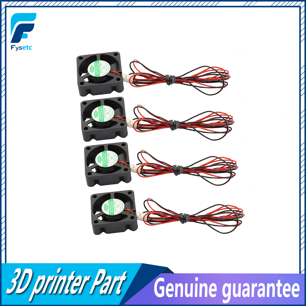 4pcs/lot Mini 12V 3010 30MM 30 x 30 x 10MM 12V 2Pin DC Cooler Small Cooling Fan 3010 12v For 3D Print Parts цены