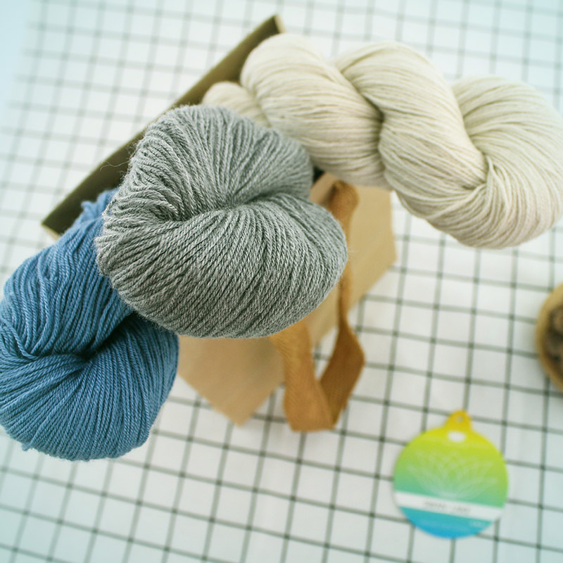 5*50g Hank  High Quality Cashmere Blended Yarn DIY Knitting Crochet Weaving Arts Craft