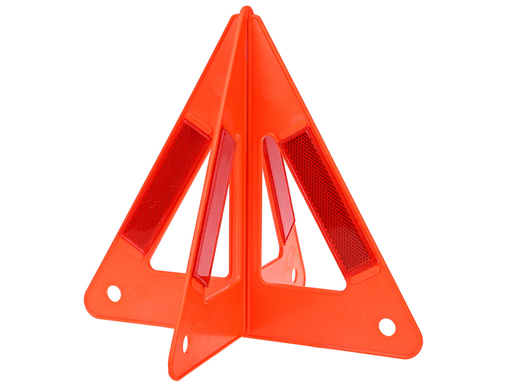 Hot Sale Auto Car Warning Triangle Safety Emergency Reflective Vehicle Fault Cars Tripod Folded Stop Sign