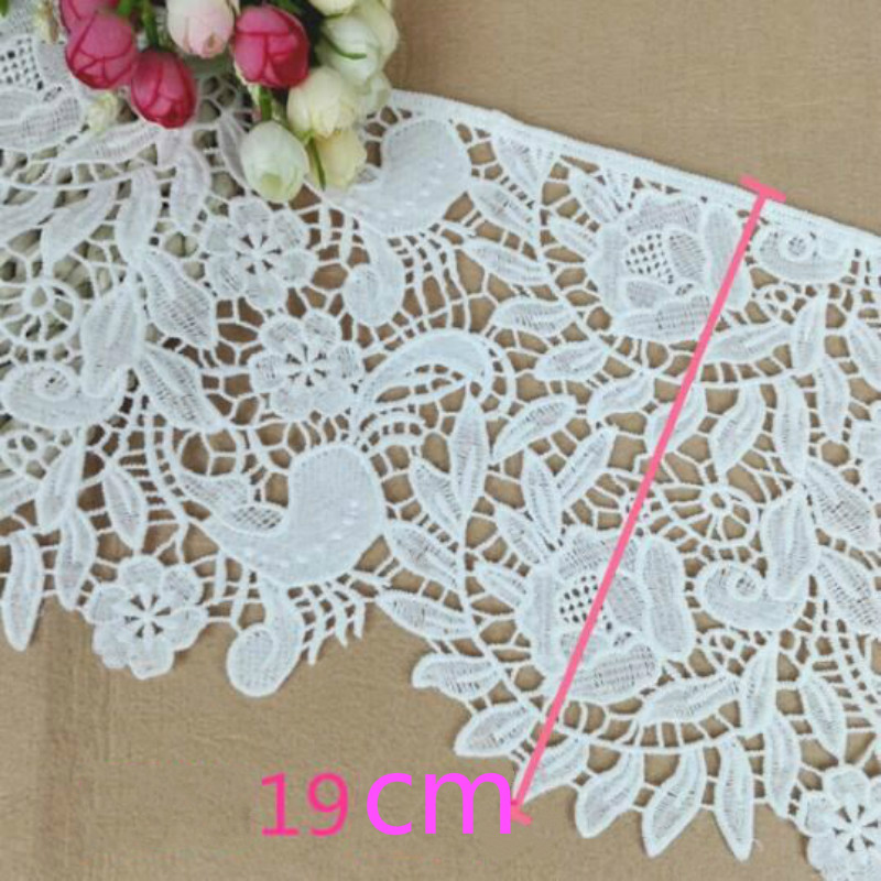 3yards/lot Ribbon Polyester Embroidered Sewing Craft Lace Trim DIY Garment & Home Decoration