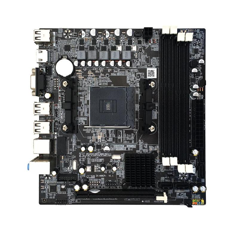 for AMD Computer Motherboard A55/A58 PCI-E 2xDDR3 4xSATA2.0 interface DIMM FM2/FM2+CPU Interface DDR3 A88M2 A10 Mainboard image