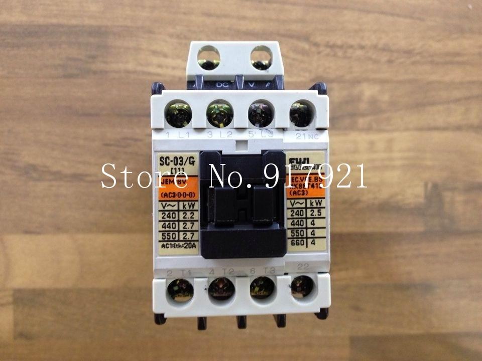 [ZOB] Japan Fuji Fe SC-03/G DC24V DC contactor 3NO+1NC elevator (original authentic) --2pcs/lot