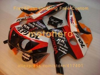 REPSOL Cheap Body kit For Honda 1990-1994 CBR250RR MC22 NC22 CBR22 250R Fairing Kits Injection molding