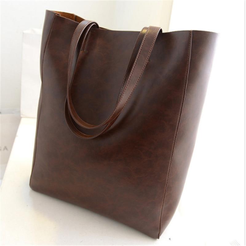 купить B0187 FiveloveTwo Luxury Women Bags Casual Women Handbag Bag Soft Leather Shoulder Bag Female Satchel Totes Bags Purses Wallet s недорого