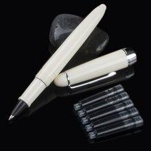 חדש הגעה Jinhao 992 Kawaii זוהרה/כחול/לבן/אדום 6 צבעים עט מכתבים משרד של יוקרה מכתבים כתיבה עטים ביה