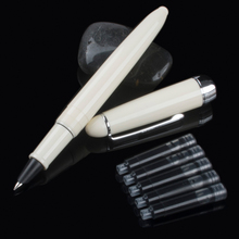 Nieuwe Aankomst Jinhao 992 Kawaii Lucency/Blauw/Wit/Rood 6 Kleuren Pen Briefpapier Kantoor Van Luxe Briefpapier schrijven Pennen Bea