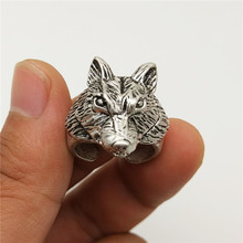 Vintage Wolf Rings Fashion Retro Style Adjustable For Women Men Jewellery