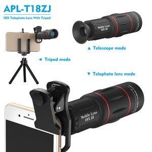 Image 3 - APEXEL 2 in 1 HD Universal 18X Telephoto กล้องเลนส์ขาตั้งกล้อง 18x25 เลนส์สำหรับสมาร์ทโฟนทั้งหมด