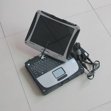 Work for MB Star C4 or for BMW ICOM A2 B C Car diagnostic laptop for panasonic cf-19 (2g ram) with one year warranty!