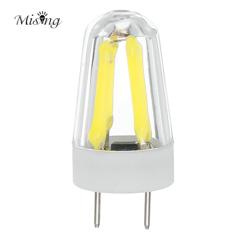Mising G9 4 Led 2W White/Warm White Dimmable Light Bulb 220-250lm LED Bulb Lamp AC120V