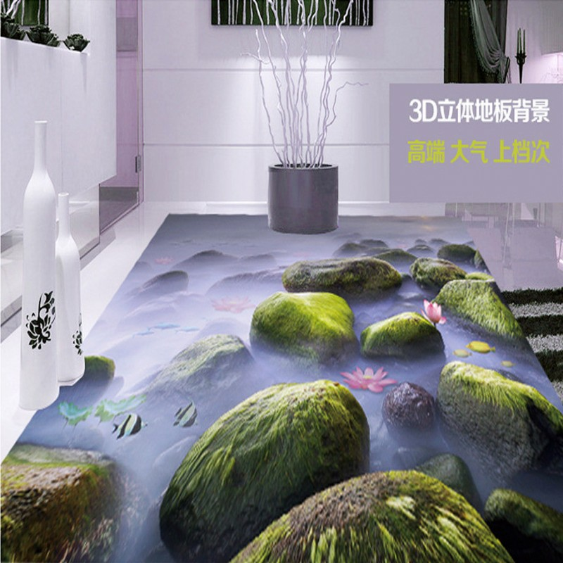 Free Shipping Atmospheric 3D solid floor background painting non-slip self-adhesive bedroom living room bathroom flooring mural free shipping marble texture parquet flooring 3d floor home decoration self adhesive mural baby room bedroom wallpaper mural