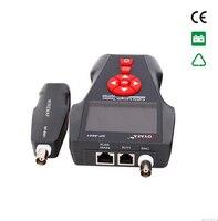Бесплатная доставка Noyafa NF 8601A аудио ЖКД кабель Длина тестер сетевой телефон коаксиальный кабель тестер с POE PING