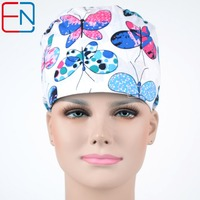 Hennar Brand Unisex Surgical Dentist Caps Hats Scrub Caps Plastic Surgeon Doctor Caps Pet Doctor Caps