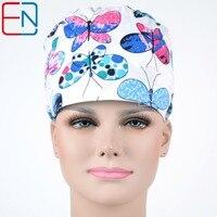 Hennar Brand Unisex Surgical Dentist Caps Hats Scrub Caps Plastic Surgeon Doctor Caps Pet Doctor Caps
