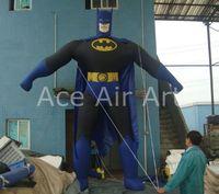 Гигантский стоящий классический мультфильм надувной шар для рекламы Бэтмен, продвижение