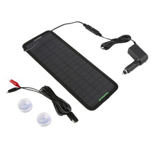 18 V, 10 W IP65 impermeable Multiusos Portátil Panel Solar Cargador de Batería para el Coche/RV Batería de Coche de alta potencia venta caliente