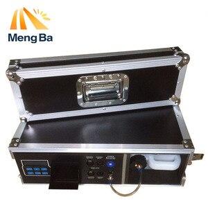 MEANGBA 1500 W de la caja de vuelo máquina de neblina 3.5L máquina de niebla para equipos de escenario con la niebla de agua líquida en DMX512 Control nebulizador