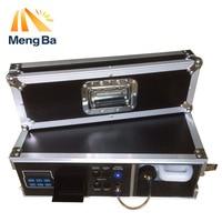 MEANGBA 1500W Flight Case Haze Machine 3.5L Fog Machine For Stage Equipment With Fog Liquid Water Based DMX512 Control Fogger