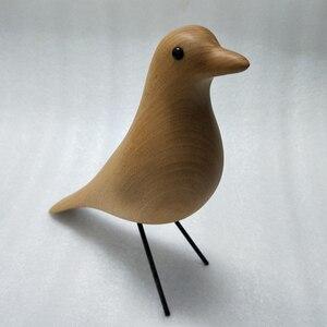 Image 5 - Beechwood ev kuş ev dekorasyon ekran mobilya sanat zanaat doğum günü hediyesi maskot ahşap kuş