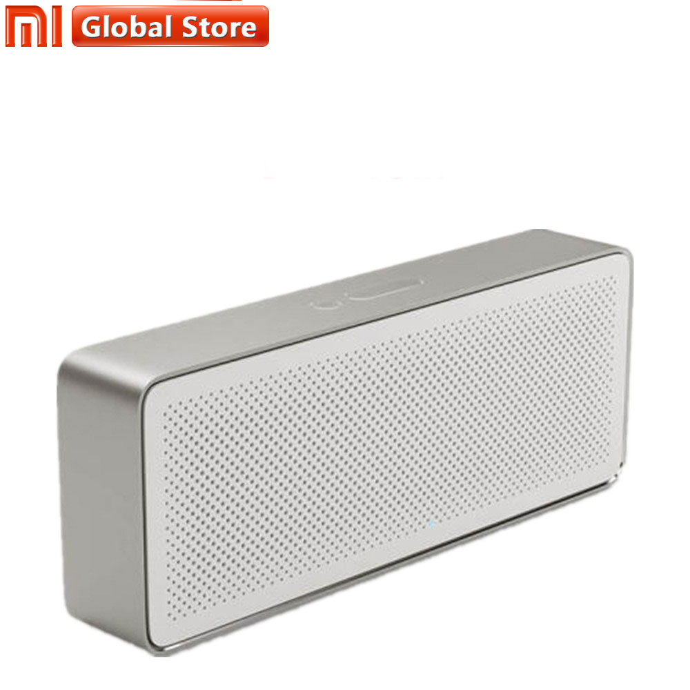 Original Xiaomi Speaker Pencil Box 2 Xiaomi Bluetooth 4.2 Wireless Portable Speaker 2 Square Stereo HD Sound High Quality Stable колонка xiaomi mini square box 2 blue