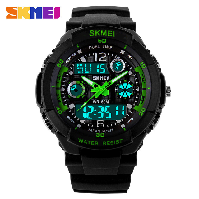 e39714b4fd5 S Choque skmei 0931 relógio de pulso homens militar digital led sports  relógios de mergulho relógios