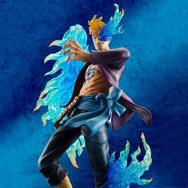 One Piece Anime Marco New World  Action Figure Toy