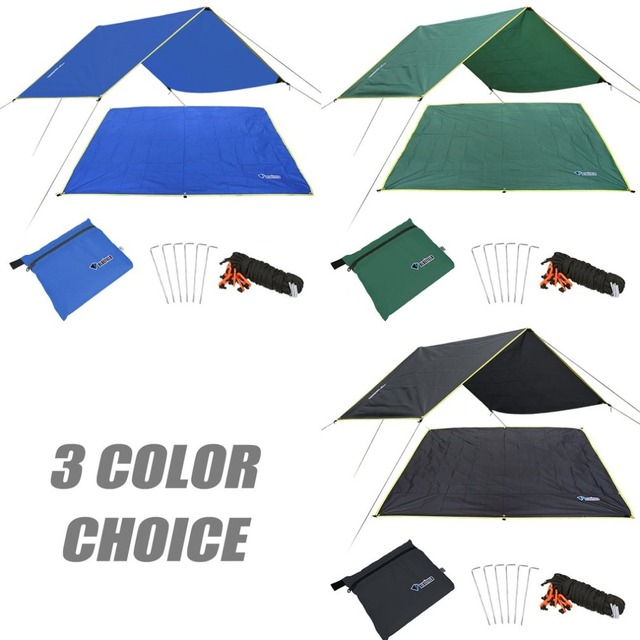 4-6 Persons Ultralight Multifunctional Waterproof Camping Mat Tent Tarp Footprint Ground Mat For Outdoor Camping Hiking Picnic 5