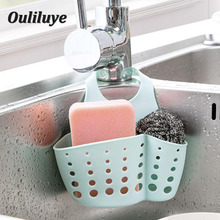 Kitchen Hanging Drain Basket Storage Sponge Kitchenware Organization Tools Faucet Holder 1PCS Organizer Gadget