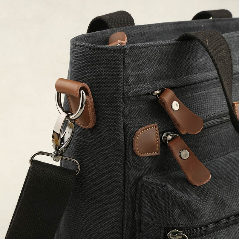 982c7d4a9b1f MOYYI 2018 Canvas Leather Crossbody Bag Men Military Army Vintage Messenger  Bags Large Shoulder Bag Casual Travel Bags -in Top-Handle Bags from Luggage  ...