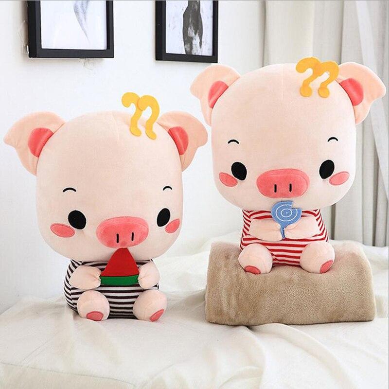 Creative belle peluche cochon doux en peluche oreiller Siesta oreiller Air conditionné couverture envoyer aux enfants et aux amis