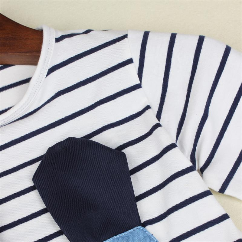 TANGUOANT-Striped-Patchwork-Character-Girl-Dresses-Long-Sleeve-Cute-Mouse-Children-Clothing-Kids-Girls-Dress-Denim-Kids-Clothes-2