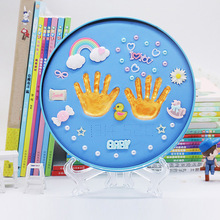 Get more info on the Baby Handprint Footprint Kit Newborn Baby Photo Album Personalized Footprint Decorations Box YJS Dropship