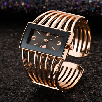 Women Rose Gold Bangle Bracelet Watch 2019 New Luxury Ladies Rectangle Dress Quartz Watches Clock bayan kol saati women leather band quartz watches rose gold case fashion casual watch rectangle dial roman number wristwatches bayan kol saati