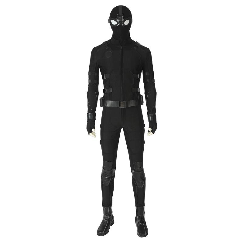 Spiderman Noir Outfits Uniform Props Halloween Cosplay Costume Custom Made