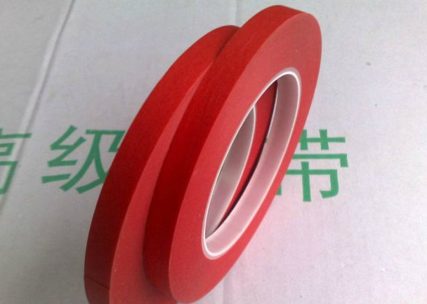 45 мм * 33 м * 0.22 мм один Уход за кожей лица клей красный креп Бумага смешивания ПЭТ высокой Температура выдержать Экранирование клейкие ленты д...
