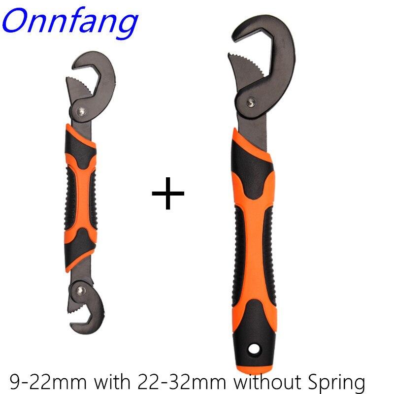 Universale Magia Chiave di Presa Regolabile Wrench set Multi-Funzione di 9-22mm/23-32mm ratchet chiave della Chiave di utensili a mano 1 set