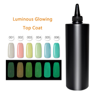 MSHARE 1KG Luminous G Top Coat Glow In the Dark UV LED Gel Polish Soak Off Long lasting Nail Gel Varnish Manicure Lacquer