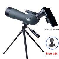 20 60x60 Zoom Monocular Professional Astronomical Telescope Mirror Binoculars Spotting Scopes Birdwatching With Tripod Adapter