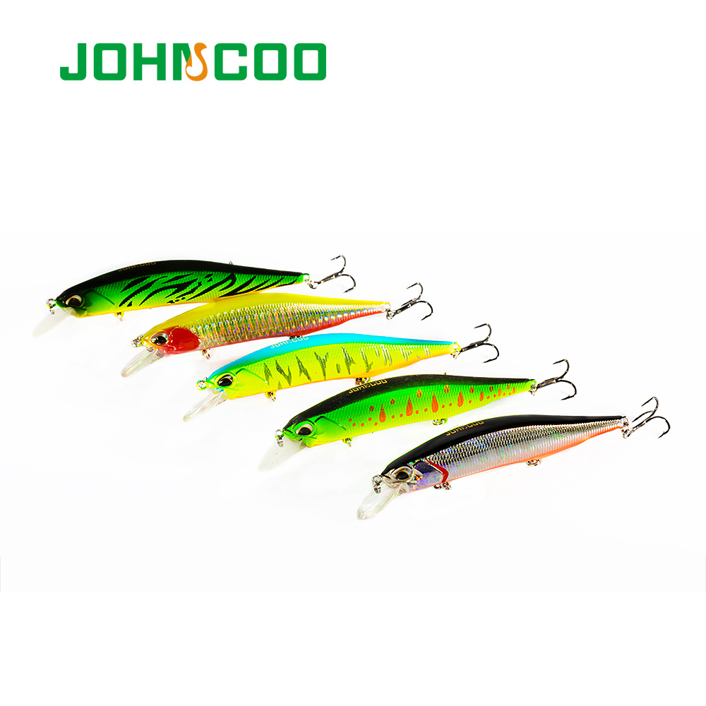 JOHNCOO Jerkbait Realis 110mm 16.8g Hard Fishing Minnow Lure Slow Sinking Minnow Artificial Bait Bass Lure Swimbait Wobblers