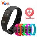 Vwar elegante pulsera de la pulsera 0.42 pulgadas oled pantalla ip67 a prueba de agua banda de frecuencia cardiaca monitor smartband para ios android xiaomi