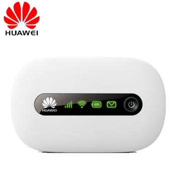 Разблокированный Huawei E5220 3G Wifi беспроводной маршрутизатор Mifi Мобильная точка доступа портативный карманный автомобильный Wifi 3G модем с слото...
