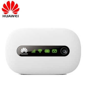 HUAWEI desbloqueado E5220 3G Wifi Router inalámbrico Mifi móvil Hotspot portátil de bolsillo coche Wifi 3G Modem con ranura para tarjeta SIM PK E5330