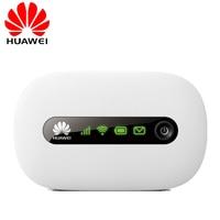 New Unlocked Huawei E5220 3G Wifi Wireless Router Mini Mifi Mobile Hotspot Portable Pocket Car Wifi 3G Modem With SIM Card Slot