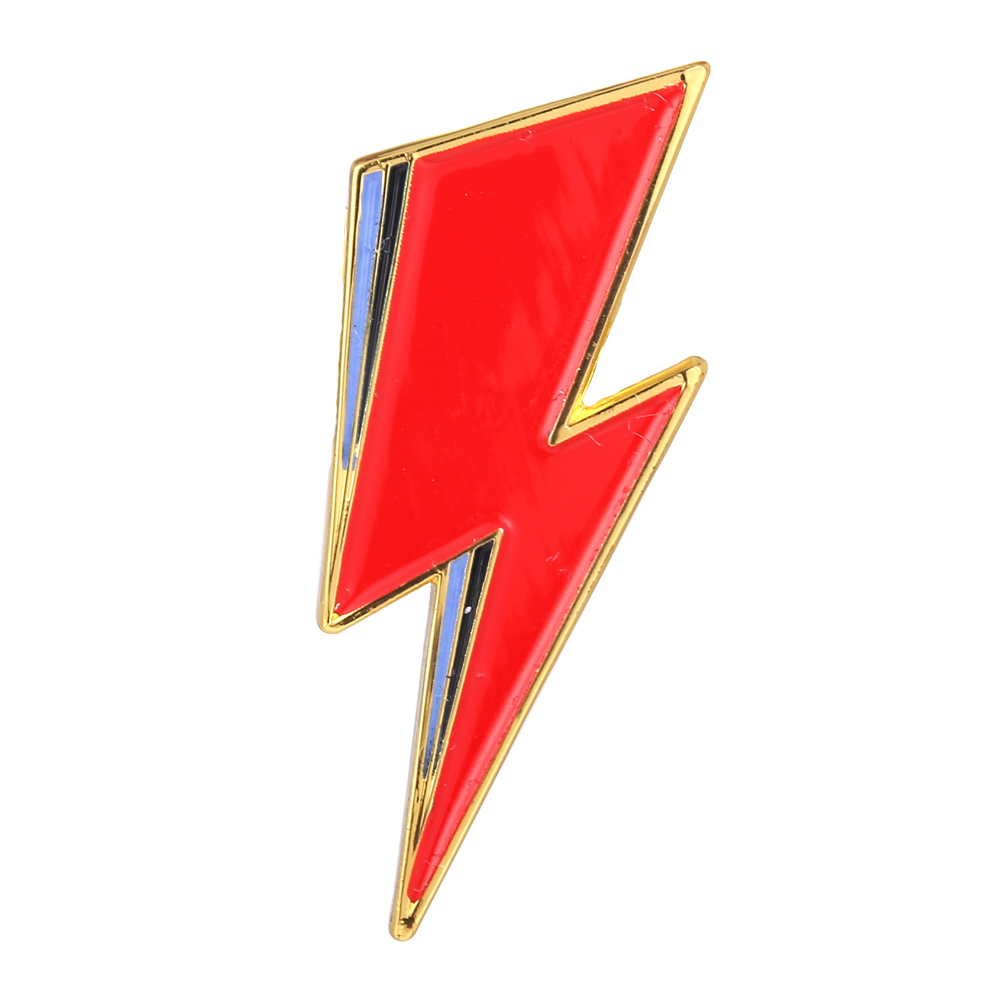 Bowie inspired Lapel Pin Aladdin Sane David Bowie Lightning Bolt ...