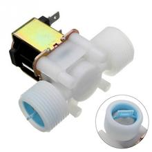 Durable G3/4 DC12V 5W water valve low viscosity fluids Solenoid Valve Water Diverter Device Normal Closed Type PP solenoid