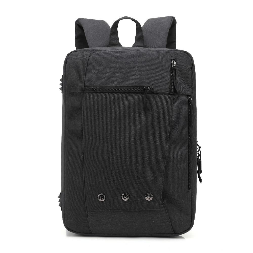 2017 Ozuko Nylon Notebook Backpack 15.6, 17.3 inch Waterproof Computer Backpack for Men Women Laptop Briefcase Shoulder Bag